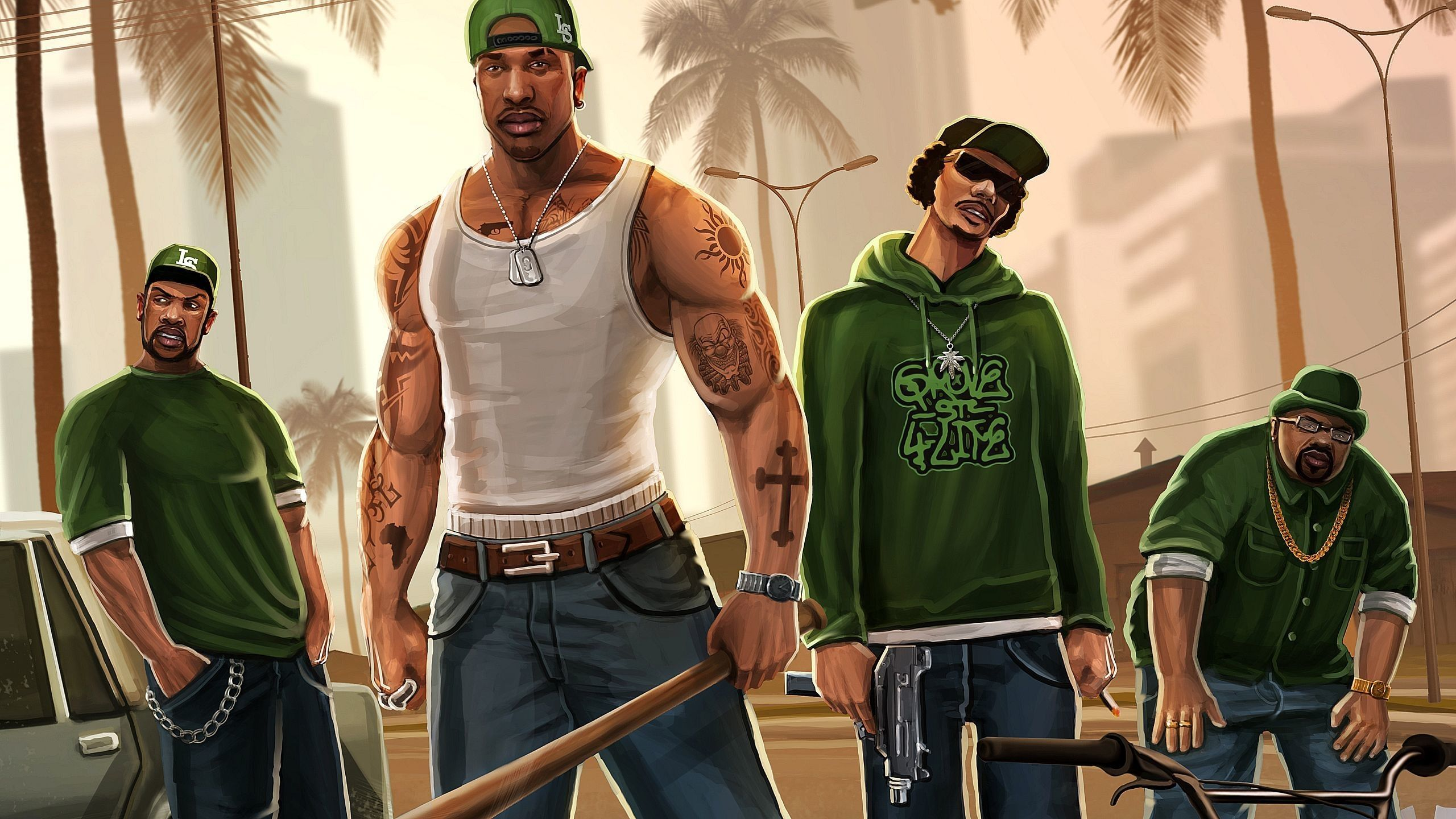 Grand Theft Auto: San Andreas Fond d