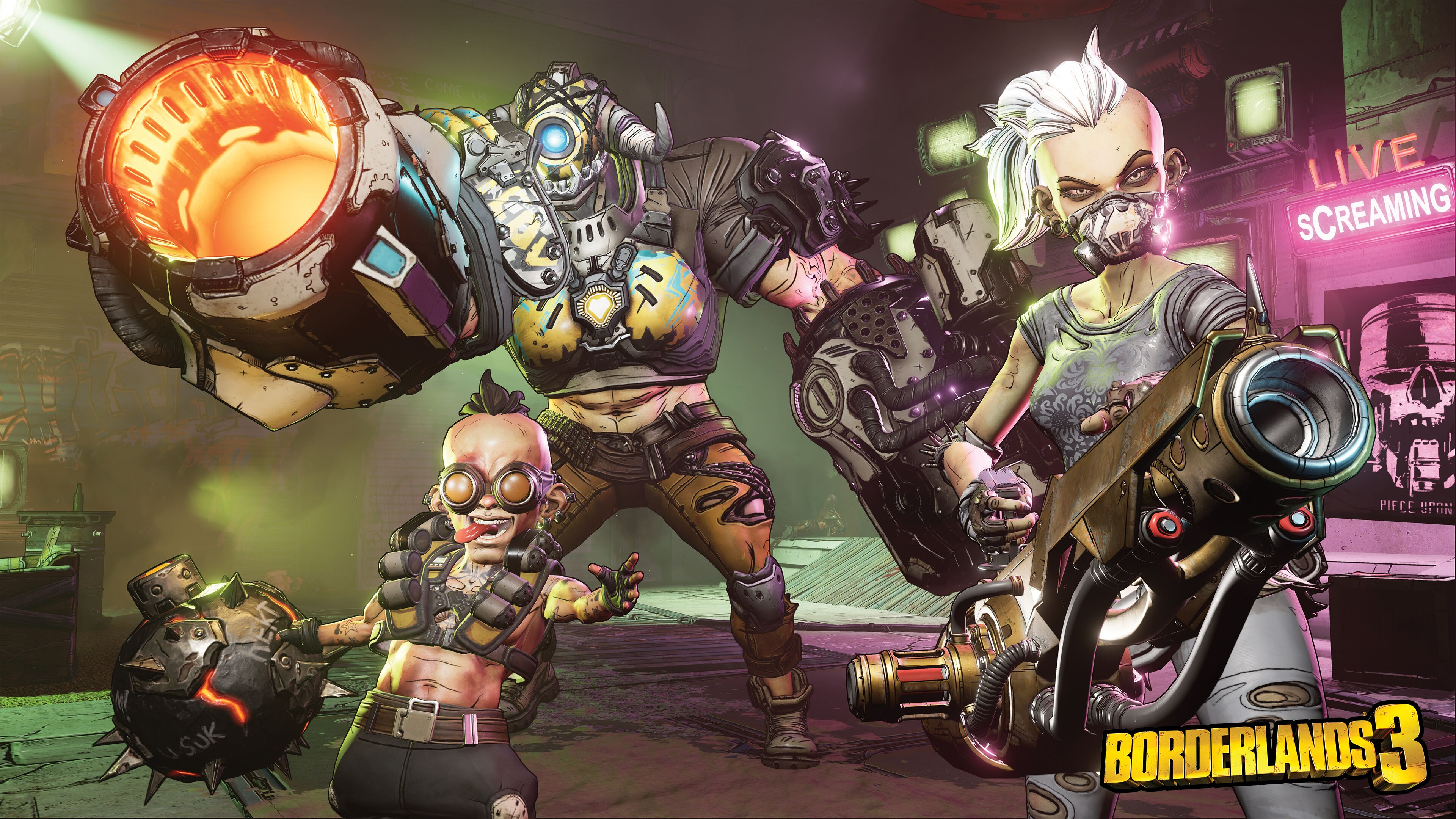 Borderlands 3 4k Ultra Hd Wallpaper Background Image