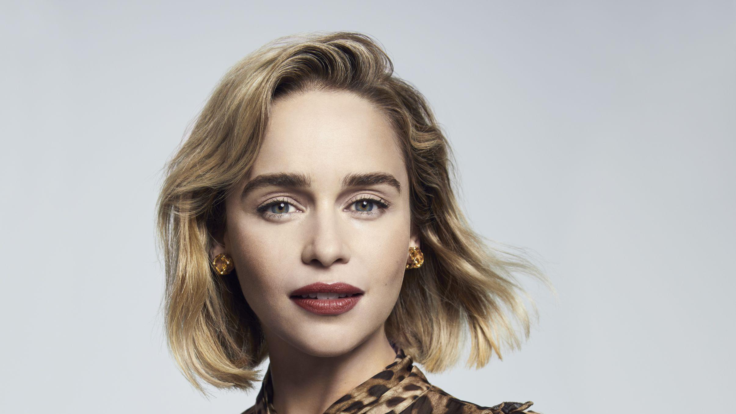 Emilia Clarke Fondo De Pantalla Hd Fondo De Escritorio