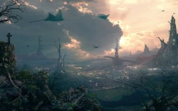 Fantasy - Großstadt Wallpapers and Backgrounds ID : 10018