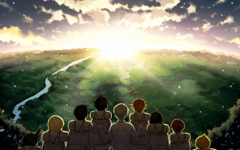 63 The Promised Neverland HD Wallpapers | Background Images
