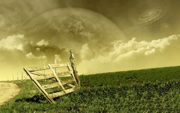 Tierra/Naturaleza Mundo de ensueño Cerca Espacio Luna Galaxia Campo Fondo de pantalla HD | Fondo de Escritorio