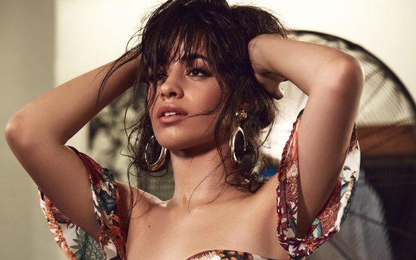 Music Camila Cabello Singers United States Earrings Brunette Brown Eyes Singer Latina HD Wallpaper | Background Image