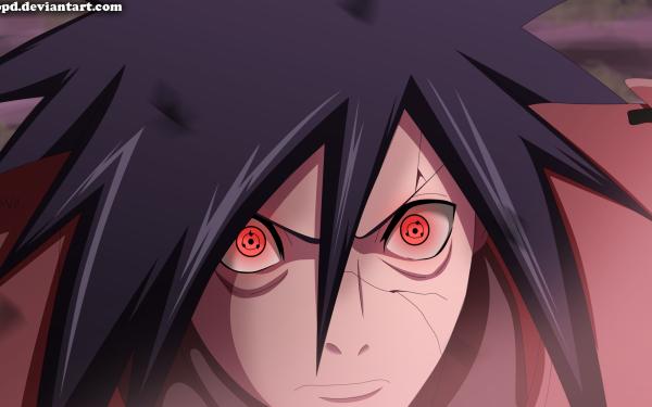 Anime Naruto Madara Uchiha Uchiha Clan Sharingan HD Wallpaper   Background Image