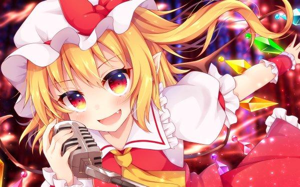 Anime Touhou Flandre Scarlet Fondo de pantalla HD   Fondo de Escritorio