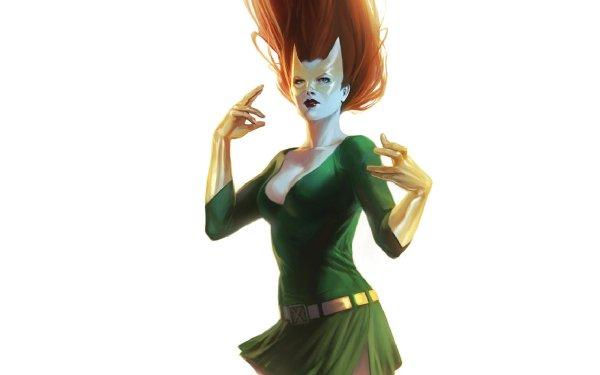 Comics Jean Grey X-Men Phoenix Marvel Girl HD Wallpaper   Background Image