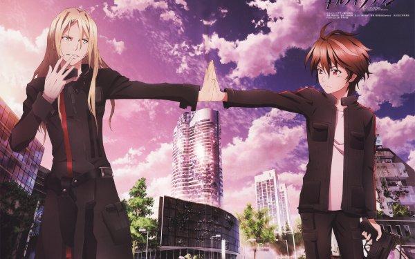 Anime Guilty Crown Shu Ouma Gai Tsutsugami HD Wallpaper | Background Image