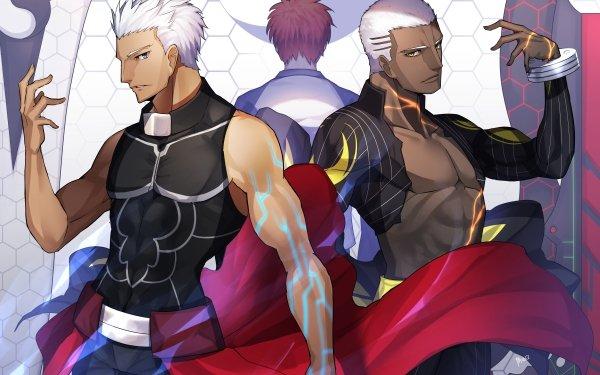 Anime Fate/Grand Order Fate Series Archer Emiya Alter Shirou Emiya HD Wallpaper | Background Image