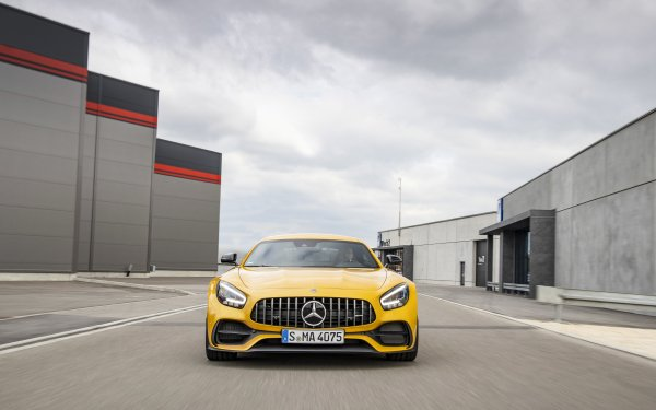 Vehicles Mercedes-AMG GT S Mercedes-Benz Mercedes-AMG GT Mercedes-AMG Car Yellow Car Sport Car Supercar HD Wallpaper   Background Image