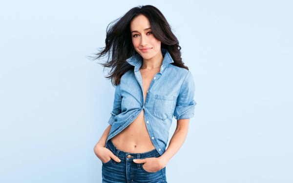 Celebrity Maggie Q Actresses United States Actress Smile Brunette HD Wallpaper | Background Image