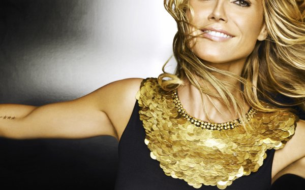Celebrity Heidi Klum Models Germany Model Blonde HD Wallpaper | Background Image