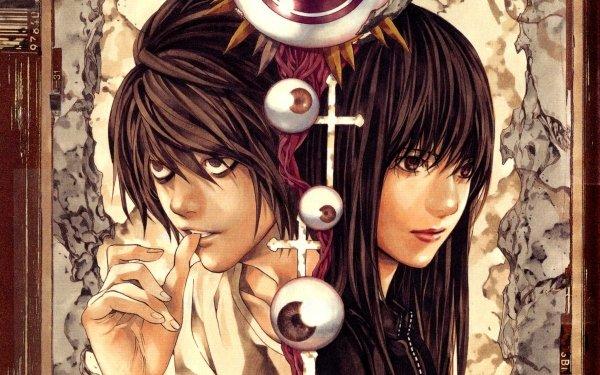 Anime Death Note L Naomi Misora HD Wallpaper   Background Image