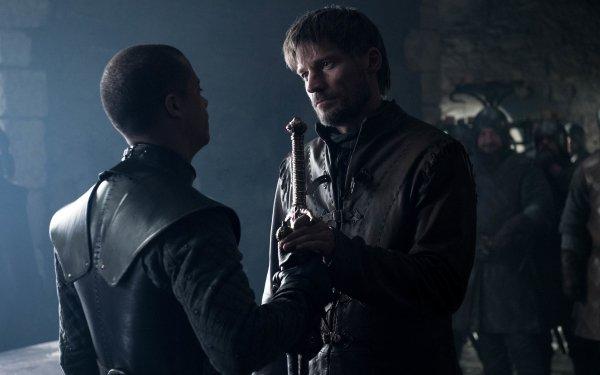 TV Show Game Of Thrones Nikolaj Coster-Waldau Jaime Lannister Grey Worm Jacob Anderson HD Wallpaper | Background Image