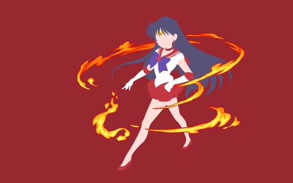 Anime Sailor Moon Sailor Mars HD Wallpaper | Background Image