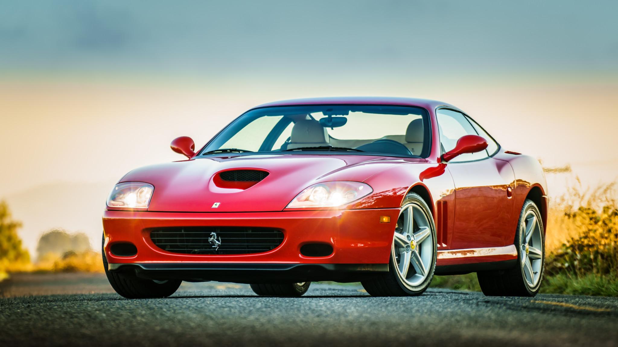 2003 Ferrari 575m Maranello Hd Wallpaper Background Image 2048x1152 Id 1017194 Wallpaper Abyss