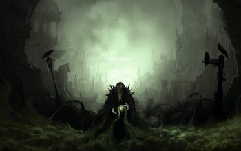 Dark - Sorcerer Wallpapers and Backgrounds ID : 101578