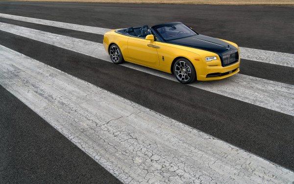 Véhicules Rolls-Royce Dawn Rolls Royce Rolls-Royce Voiture Yellow Car Luxury Car Fond d'écran HD   Image