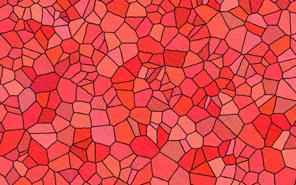 Abstract Colors Texture Pattern Stone Colorful Red Mosaic HD Wallpaper | Background Image