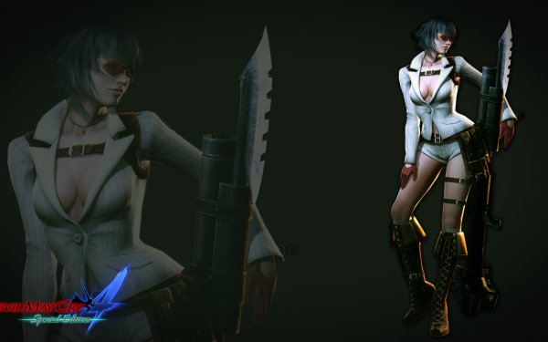Video Game Devil May Cry 4 Devil May Cry Lady HD Wallpaper | Background Image