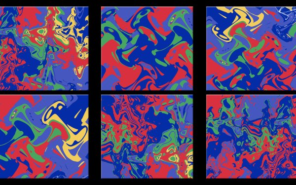 Abstract Cool Pop Art Colorful Shapes HD Wallpaper | Background Image