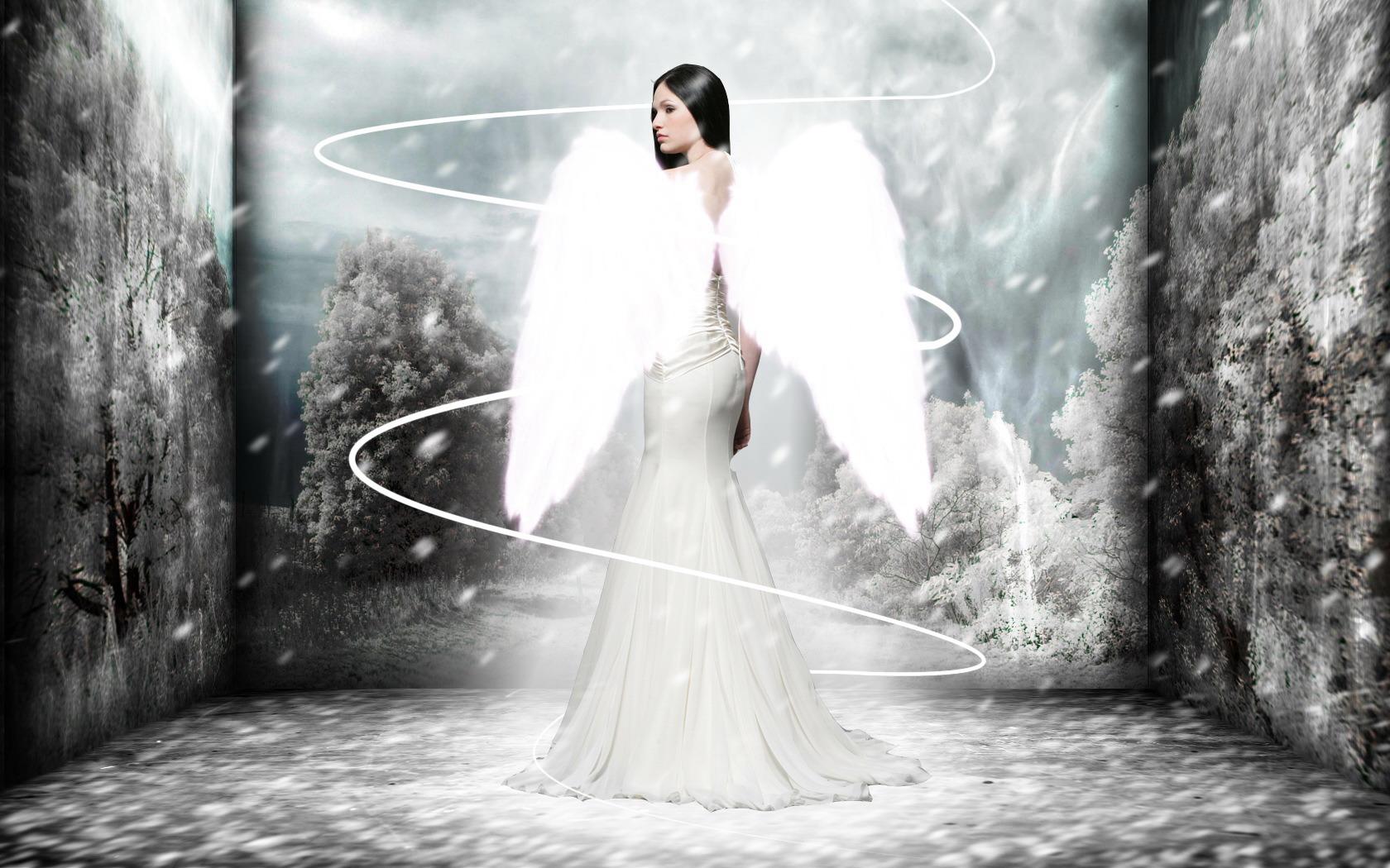 Фэнтези - Ангел  Lovely Фэнтези Wings Обои