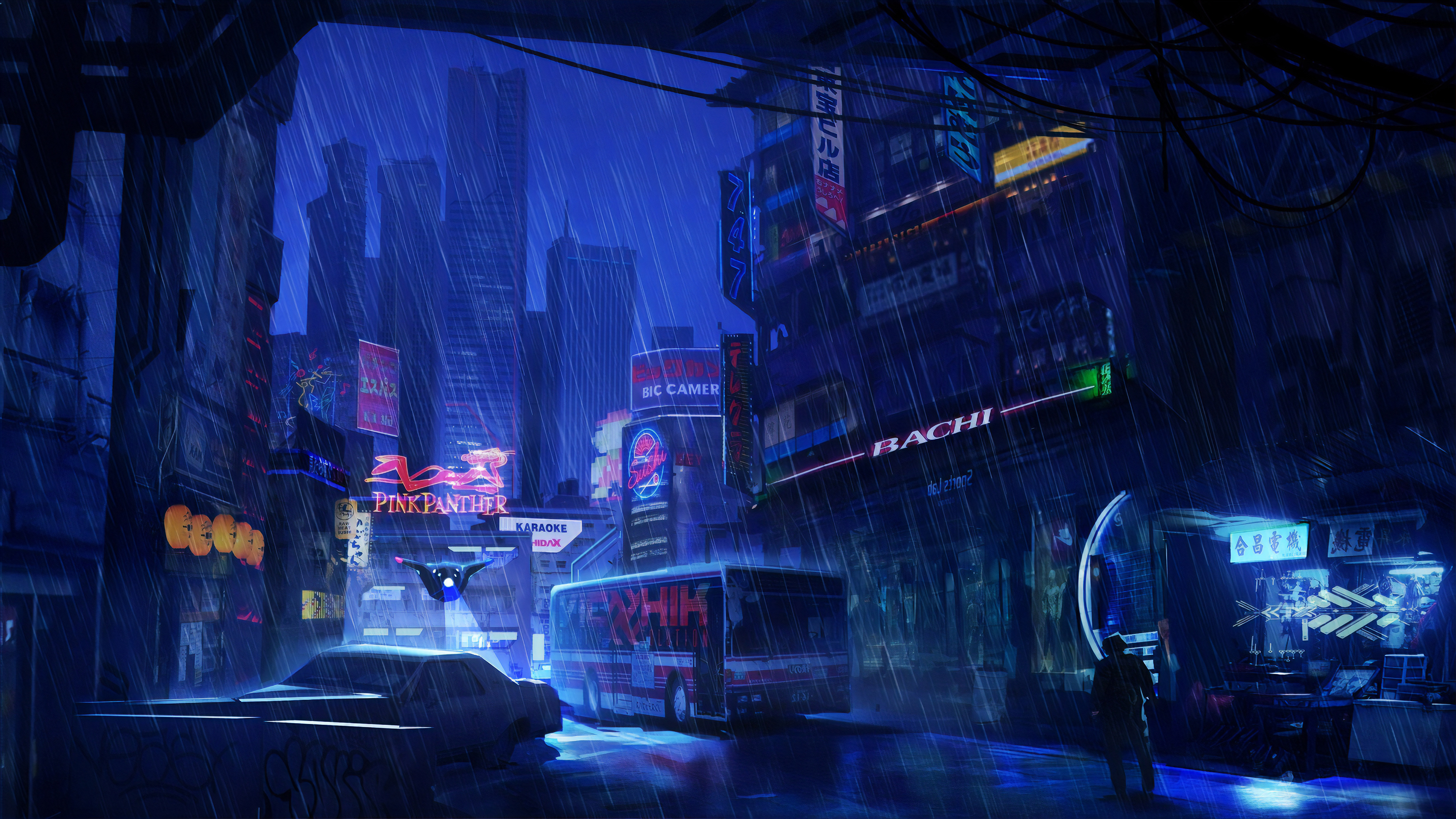 City 4k Ultra Hd Wallpaper Background Image 3840x2160
