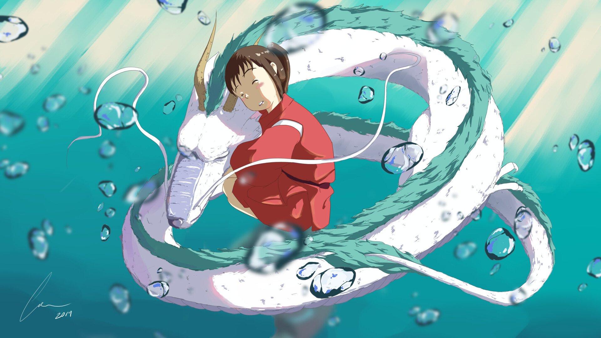 A Viagem De Chihiro Papel De Parede Hd Plano De Fundo