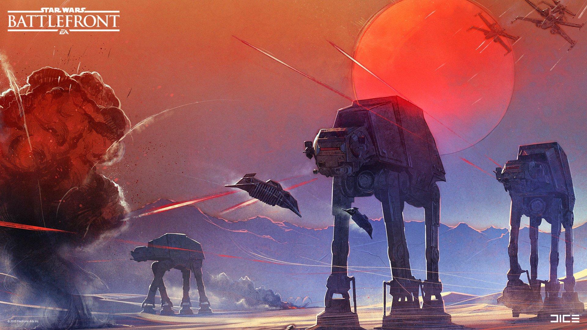 Star Wars Battlefront (2015) HD Wallpaper | Background Image