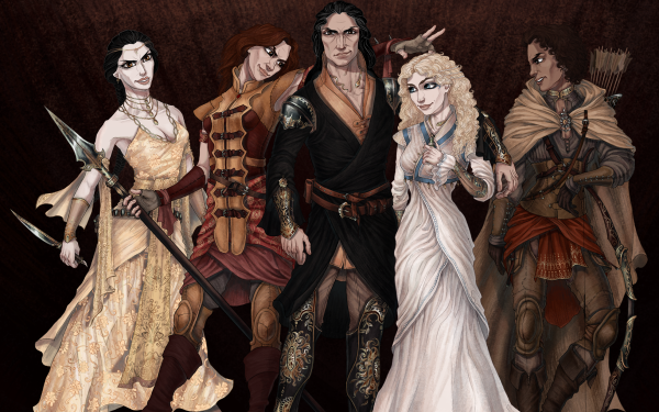 Fantasy A Song Of Ice And Fire Obara Sand Tyene Sand Nymeria Sand Oberyn Martell HD Wallpaper   Background Image