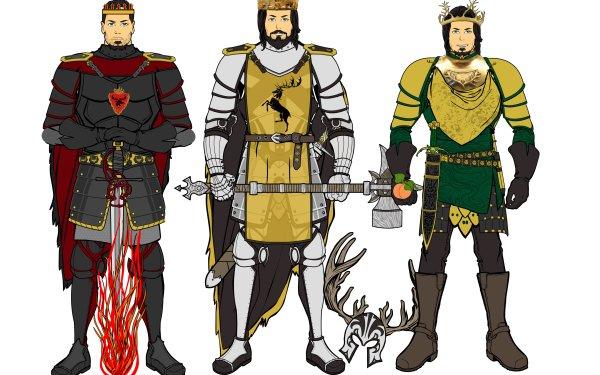 Fantasy A Song Of Ice And Fire Stannis Baratheon Robert Baratheon Renly Baratheon HD Wallpaper | Background Image