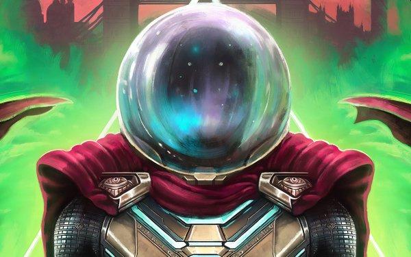 Movie Spider-Man: Far From Home Spider-Man Mysterio HD Wallpaper   Background Image