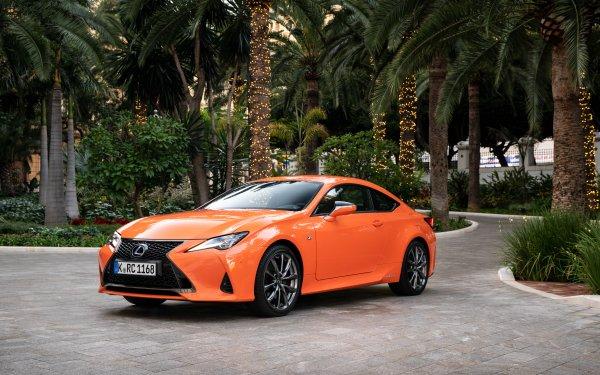 Véhicules Lexus RC  Lexus Voiture Orange Car Compact Car Luxury Car Fond d'écran HD | Image