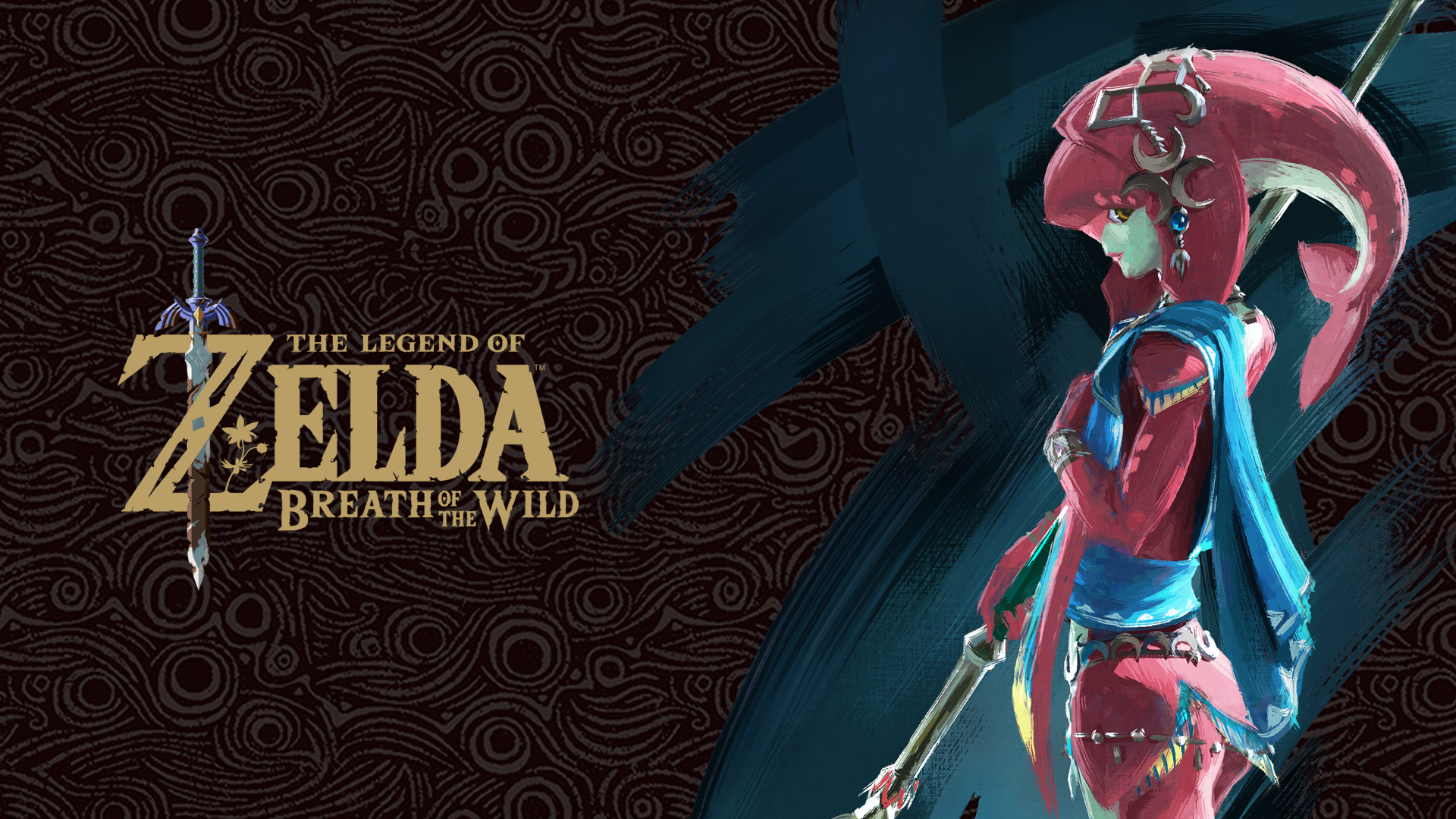 The Legend Of Zelda Breath Of The Wild Mipha Hd Wallpaper