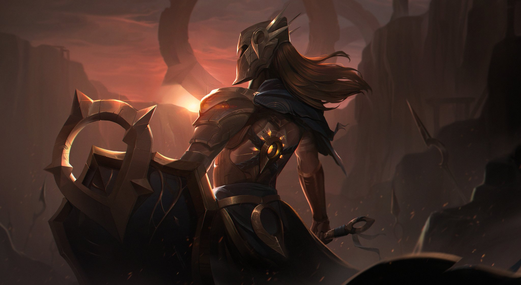 Fan Leona Rework Splash Fondo De Pantalla Hd Fondo De