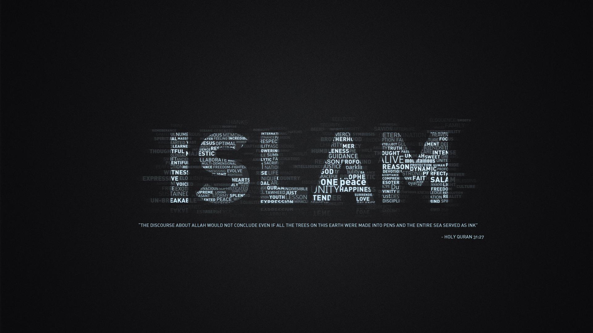 Islam Fondo De Pantalla Hd Fondo De Escritorio 1920x1080