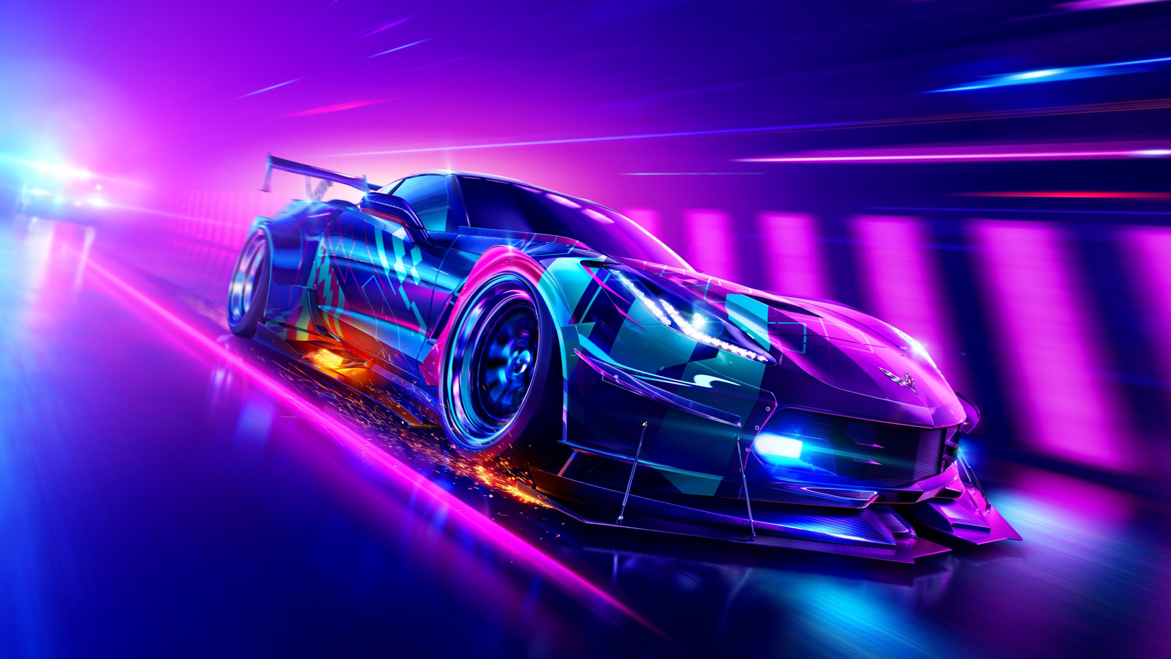 Need For Speed Heat 4k Ultra Hd Wallpaper Hintergrund