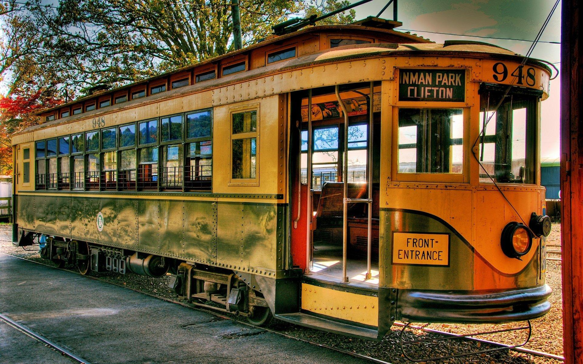 Fotografía - HDR  Tram Fondo de Pantalla