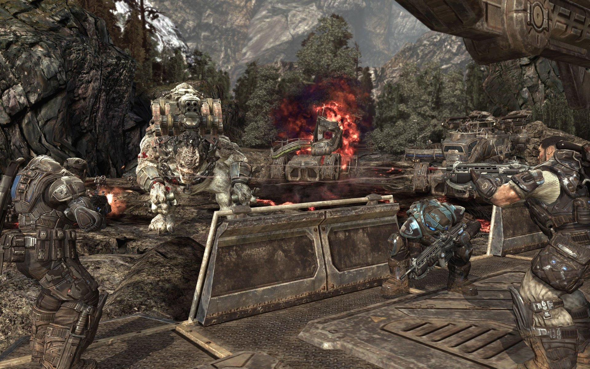 电子游戏 - 战争机器2  壁纸