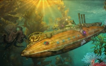 Sci Fi - Steampunk Wallpapers and Backgrounds ID : 103006
