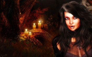 Fantasy - Vampire Wallpapers and Backgrounds ID : 103214