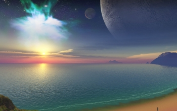CGI - Ocean Wallpapers and Backgrounds ID : 103554