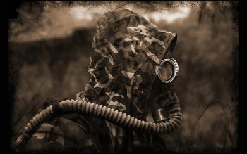 Military - Gas Mask Wallpapers and Backgrounds ID : 103558