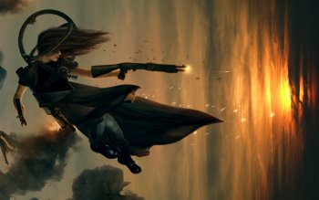 Sci Fi - Women Warrior Wallpapers and Backgrounds ID : 103836