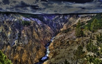 Earth - Grand Canyon Of The Yellowstone Wallpapers and Backgrounds ID : 103848