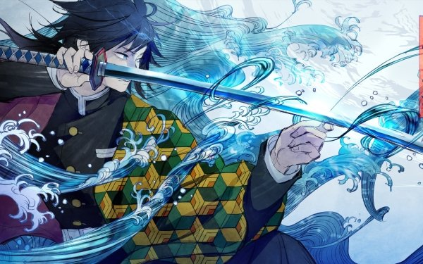 Anime Demon Slayer: Kimetsu no Yaiba Giyuu Tomioka HD Wallpaper   Background Image