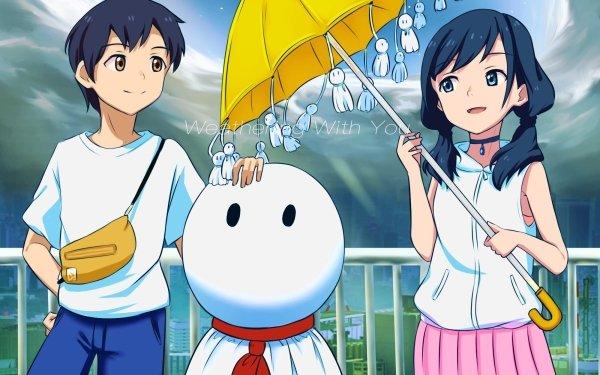 Anime Weathering With You Hodaka Morishima Hina Amano Nagi Amano HD Wallpaper | Background Image