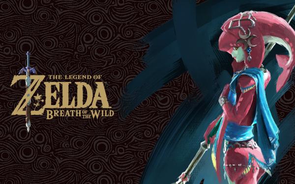Video Game The Legend of Zelda: Breath of the Wild Zelda Mipha HD Wallpaper | Background Image