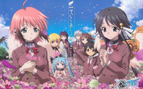 Anime Heaven's Lost Property Ikaros Nymph Mikako Satsukitane Tomoki Sakurai Eishirō Sugata Sohara Mitsuki Astraea Hiyori Kazane HD Wallpaper | Background Image