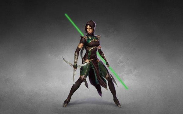 Video Game Mortal Kombat Jade Woman Warrior HD Wallpaper | Background Image