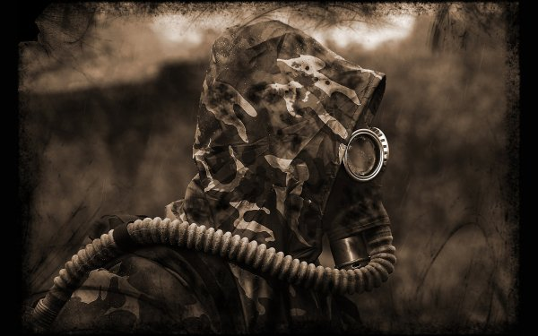 Military - Gas Mask Wallpapers and Backgrounds